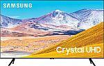 "65"" Samsung UN65TU8000FXZA Crystal UHD 4K Smart TV $649 + Free $100 eGift Card"