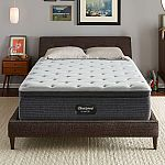 Beautyrest Silver Kayden Queen Plush Pillow Top Mattress Set $649 and more