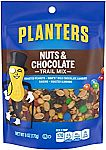 Planters Trail Mix, Nuts and Chocolate, 6 oz $1.97