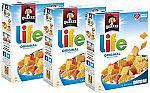 3-Pack 13-oz Life Breakfast Cereal (Original) $6