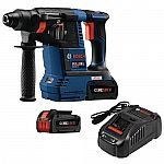 Bosch Bulldog 18-Volt Cordless 1 in. SDS-Plus Variable Speed Rotary Hammer Kit $137 (YMMV)