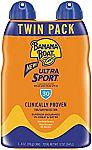 2-Pack 6oz Banana Boat SPF 30 Ultra Sport Sunscreen $7, 2-Pk SPF 50 $9