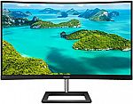 "Philips 325E1C 32"" Surper-Curved QHD 75Hz FreeSync Frameless Monitor $249.99"