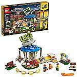 LEGO Creator 3in1 Fairground Carousel 31095 Building Kit (595 Pieces) $39.99