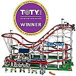 LEGO Creator Expert Roller Coaster 10261 Building Kit (4124 Pieces) $379.99