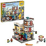 LEGO Creator 3 in 1 Townhouse Pet Shop & Café 31097 Toy Store $69.98