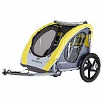 Schwinn Shuttle foldable bike trailer, 2 passengers $79