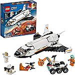 LEGO City Space Mars Research Shuttle 60226 Space Shuttle $32