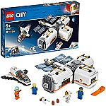 LEGO City 60227 Space Lunar Space Station Building Set (412-Pieces) $48