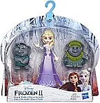 Disney Frozen Elsa Small Doll with Troll Figures $2.50