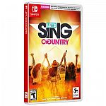 Let's Sing Country (Switch, XBox, PS4) $10, Game + 2 Mics Bundle $20