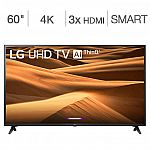 "LG 60"" 7 Series 4K UHD LED LCD TV (Model 60UM7100DUA) $389.99"