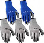 5-Pairs Wells Lamont Nitrile Work Gloves (Large) $5