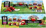 Apple & Eve 100% Juice Variety Pack (32-Pack 6.75-oz) $8