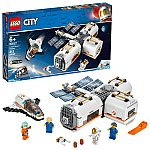 LEGO City Space Lunar Space Station 60227 Building Set with Toy Shuttle $48
