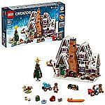 LEGO Creator Expert Gingerbread House 10267 Building Kit + Free City Helicopter or Water Scooter $99.99