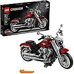 LEGO Creator Expert Harley-Davidson Fat Boy 10269 Building Kit, New 2020 (1,023 Pieces) $99.95