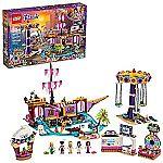 LEGO Friends Heartlake City Amusement Pier 41375 Toy Rollercoaster Building Kit $110.99