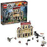 LEGO Jurassic World Indoraptor Rampage at Lockwood Estate 75930 Popular Building Kit $129.94