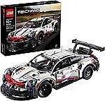 LEGO Technic Porsche 911 RSR 42096 Race Car Building Set $119.95