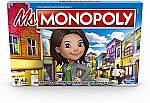 Hasbro Board Games Sale: Monopoly Ms.Monopoly Board Game $7, Face It Challenge Party Game $5 and more