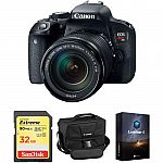 Canon EOS Rebel T7i DSLR Camera w/ 18-135mm Lens & Accessory Kit $949 & More