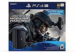 PlayStation 4 Pro 1TB Console - Call of Duty: Modern Warfare Bundle $399.99