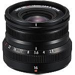 Fujifilm WR Lenses w/ $100 Adorama GC: XF 16mm f/2.8 R $399, XF 23mm (35mm) F/2R $449