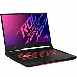 "ASUS ROG Strix G15 15.6"" 144Hz FHD Gaming Laptop (i7-10750H 16GB 512GB SSD GTX 1650Ti) $999"