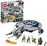 LEGO Star Wars: The Revenge of the Sith Droid Gunship 75233 Building Kit (329 Pieces) $49.99