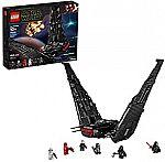 LEGO Star Wars: The Rise of Skywalker Kylo Ren's Shuttle 75256 Star Wars Shuttle Action Figure Building Kit (1,005 Pieces) $110