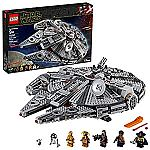LEGO Star Wars: The Rise of Skywalker Millennium Falcon 75257 Starship Model Building Kit and Minifigures (1,351 Pieces) $159.99