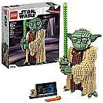 LEGO Star Wars: Attack of the Clones Yoda 75255 Yoda Building Model $85
