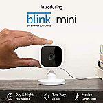 Introducing Blink Mini – Compact indoor plug-in smart security camera $29.99
