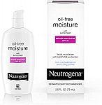 2.5-Oz Neutrogena Oil-Free Moisturizer w/ SPF 35 Sunscreen $5.64