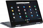 "Dell Inspiron 14"" Touch Chromebook Laptop (i3-8130U 4GB 128GB) $350"