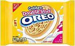 Oreo Golden Double Stuf Sandwich Cookies, 15.25 oz $1.99