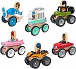 Fisher-Price Wonder Makers 6-Pack Vehicle Bundle Gift Set $7