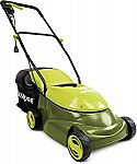 Sun Joe 14 inch 13 Amp Electric Lawn Mower $83