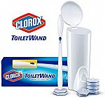 Clorox ToiletWand Disposable Toilet Cleaning System w/ 6 Refills $5