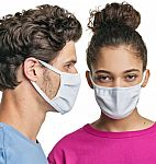 10-Pack Hanes Wicking Cool Comfort 3-Ply Reusable Masks $25 + Free Shipping