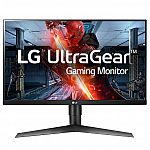 "LG UltraGear 27"" Class FHD IPS G-Sync Compatible Gaming Monitor $180"