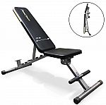 Fitness Reality 1000 Super Max 12-Position Adjustable Weight Bench $99