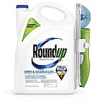 Roundup Ready-to-Use 1.33-Gallon Weed & Grass Killer + Free Bonus 1.25-Gallon Refill $25