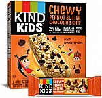48-count KIND Kids Granola Chewy Bar, Peanut Butter Chocolate Chip $16.26