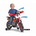Motobike 6V Cross 400F Kids' Ride-On $49 (orig. $99)