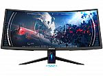 "Westinghouse 34"" UWQHD 3440 x 1440 100Hz 5ms FreeSync Curved Gaming Monitor $360"