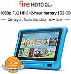 Fire HD 10 Kids Edition Tablet $150