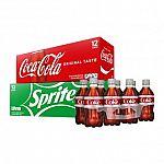 12-Pack Coca-cola, Pepsi & Assorted Soda $2.85 (Target Circle Offer)