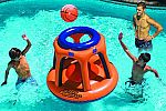 Pool Float Sale: Swimline Giant Shootball Basketball Swimming Pool Game Toy $28 and more
